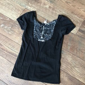 Volcom Scoop Back SS Top Small